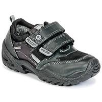 鞋子 男孩 球鞋基本款 Primigi FAUSTO GORE-TEX 黑色