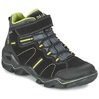 鞋子 男孩 短筒靴 Primigi JACKSON 黑色 / 绿色