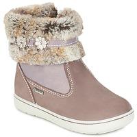 鞋子 女孩 短筒靴 Primigi MARINA-E 米色 / 玫瑰色