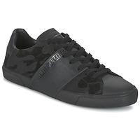 鞋子 男士 球鞋基本款 Bikkembergs RUBBER CAMOUFLAGE 黑色
