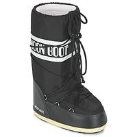 鞋子 雪地靴 Moon Boot MOON BOOT NYLON 黑色