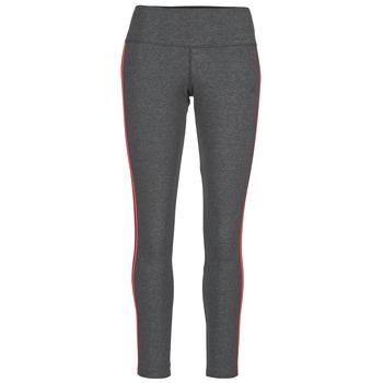 衣服 女士 紧身裤 阿迪达斯三叶草 ESS 3S TIGHT 灰色