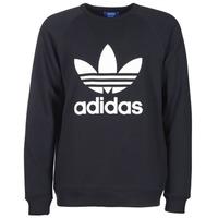 衣服 男士 卫衣 Adidas Originals 阿迪达斯三叶草 TREFOIL CREW 黑色