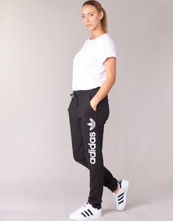 衣服 女士 厚裤子 Adidas Originals 阿迪达斯三叶草 LIGHT LOGO TP 黑色