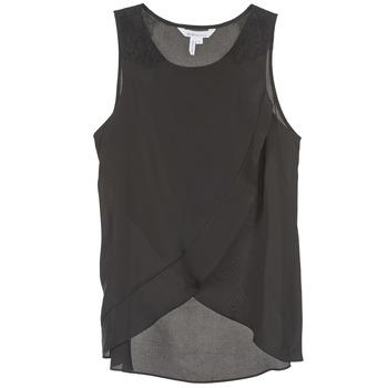 衣服 女士 無領短袖套衫/無袖T恤 BCBGMAXAZRIA 616725 黑色