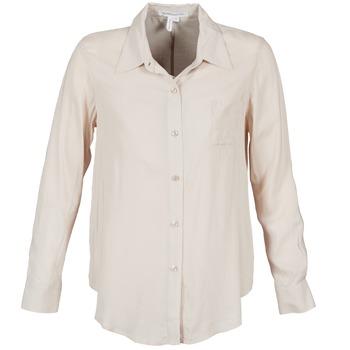 衣服 女士 襯衣/長袖襯衫 BCBGMAXAZRIA 616747 米色