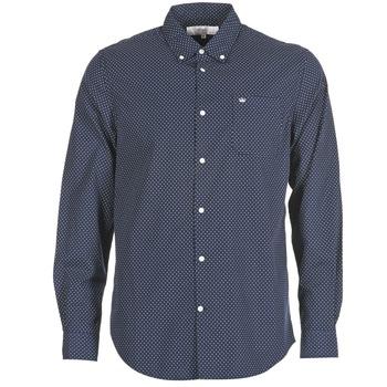 衣服 男士 长袖衬衫 Vicomte A. JANOUPE 海蓝色