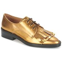 鞋子 女士 德比 Castaner GERTRUD 金色