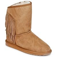 鞋子 女士 短筒靴 EMU WOODSTOCK 棕色