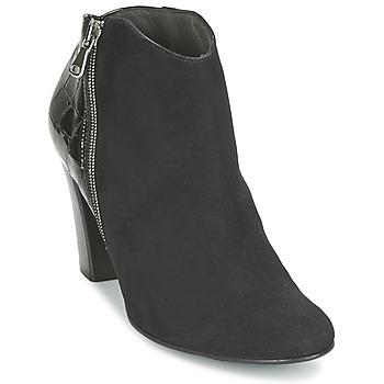 鞋子 女士 短靴 France Mode NANTES 黑色 / Verni