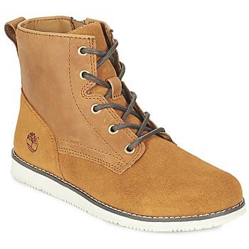 鞋子 儿童 短筒靴 Timberland 添柏岚 NEWMARKET BOOT 黄色