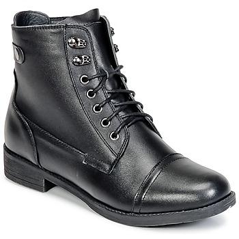 鞋子 女士 短筒靴 Wildflower BOMBAY 黑色