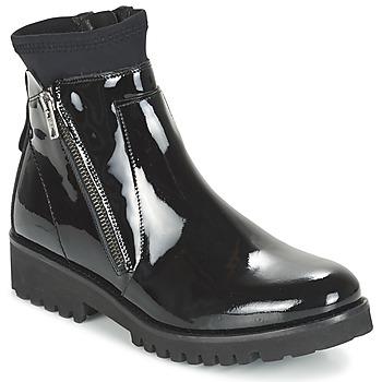鞋子 女士 短筒靴 Regard REJABI 黑色 / VERNI
