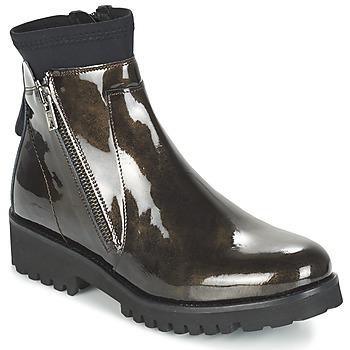 鞋子 女士 短筒靴 Regard REJABI 古銅色 / VERNI
