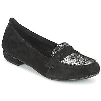 鞋子 女士 皮便鞋 Regard REMAVO 黑色 / 天鹅绒