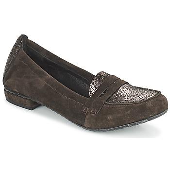 鞋子 女士 皮便鞋 Regard REMAVO 棕色