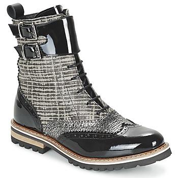 鞋子 女士 短筒靴 Regard RIFADO 灰色 / 黑色 / VERNI