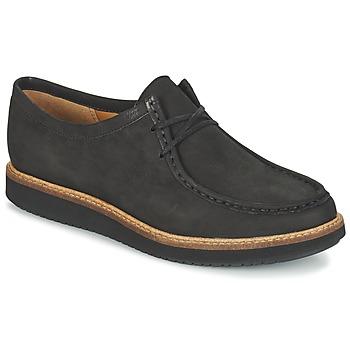 鞋子 女士 德比 Clarks 其乐 GLICK BAYVIEW 黑色