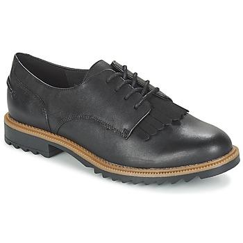鞋子 女士 德比 Clarks 其乐 GRIFFIN MABEL 黑色