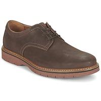 鞋子 男士 德比 Clarks 其乐 NEWKIRK PLAIN 棕色