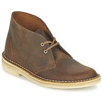 鞋子 女士 短筒靴 Clarks 其乐 DESERT BOOT 棕色