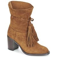 鞋子 女士 短靴 Jeffrey Campbell LAFORGE 驼色