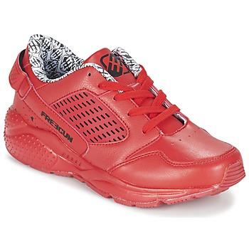 鞋子 男孩 球鞋基本款 Freegun FADSA 红色