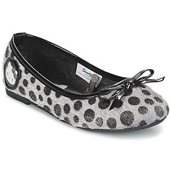 鞋子 女孩 平底鞋 Hello Kitty 凯蒂猫 BULIA SS E 灰色