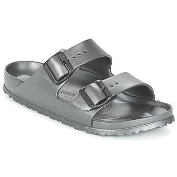 鞋子 女士 休闲凉拖/沙滩鞋 Birkenstock 勃肯 ARIZONA-EVA 灰色