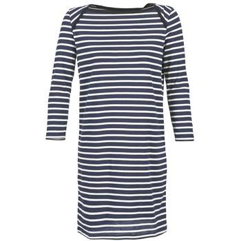 衣服 女士 短裙 Petit Bateau 小帆船 EREMATE 海蓝色 / 白色