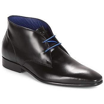 鞋子 男士 短筒靴 Azzaro 阿莎露 JAVOY 黑色