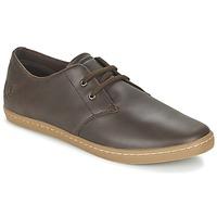 鞋子 男士 球鞋基本款 Fred Perry BYRON LOW LEATHER 棕色