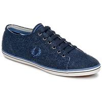 鞋子 男士 球鞋基本款 Fred Perry KINGSTON TWEED 海蓝色