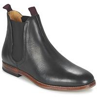 鞋子 男士 短筒靴 Hudson TAMPER CALF 黑色