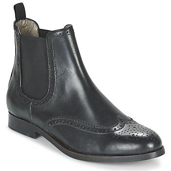 鞋子 女士 短筒靴 Hudson ASTA CALF 黑色