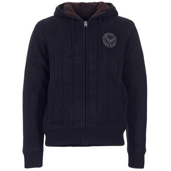 衣服 男士 羊毛开衫 Schott DUNLIN 黑色