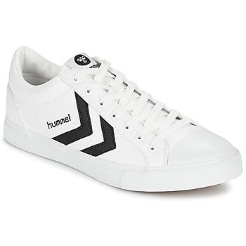 鞋子 球鞋基本款 Hummel DEUCE COURT SPORT 白色