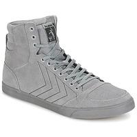鞋子 高帮鞋 Hummel TEN STAR TONAL HIGH 灰色