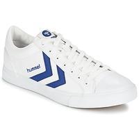 鞋子 球鞋基本款 Hummel BASELINE COURT 白色 / 蓝色