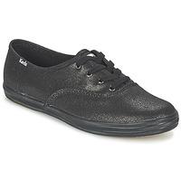 鞋子 女士 球鞋基本款 Keds CH METALLIC CANVAS 黑色