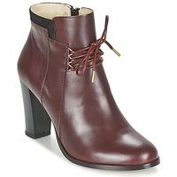 鞋子 女士 短靴 M. Moustache EMMA 波尔多红 / 黑色