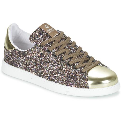 鞋子 女士 球鞋基本款 Victoria 维多利亚 DEPORTIVO BASKET GLITTER 多彩
