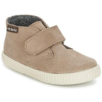 鞋子 儿童 高帮鞋 Victoria 维多利亚 SAFARI SERRAJE VELCRO 灰褐色