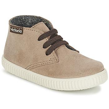 鞋子 儿童 高帮鞋 Victoria 维多利亚 SAFARI SERRAJE KID 灰褐色