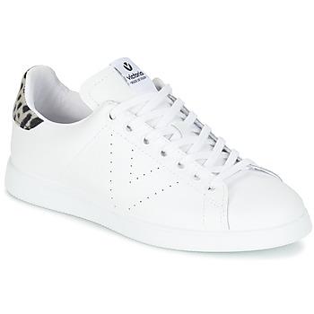 鞋子 女士 球鞋基本款 Victoria 维多利亚 DEPORTIVO BASKET PIEL 白色