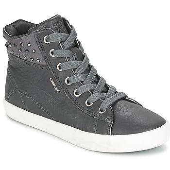鞋子 女孩 高帮鞋 Geox 健乐士 KIWI GIRL 灰色