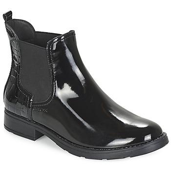 鞋子 女孩 短筒靴 Geox 健乐士 SOFIA 黑色