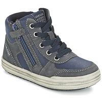 鞋子 男孩 高帮鞋 Geox 健乐士 ELVIS 蓝色 / 灰色
