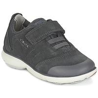 鞋子 男孩 球鞋基本款 Geox 健乐士 NEBULA BOY 灰色