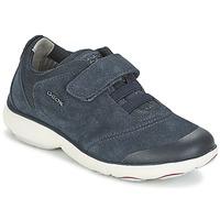 鞋子 男孩 球鞋基本款 Geox 健乐士 NEBULA BOY 蓝色